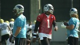 IMAGES: Cam Newton returns to practice after… - (1/10)