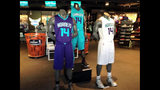 NEW IMAGES: Charlotte Hornets reveal new… - (2/9)