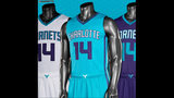 NEW IMAGES: Charlotte Hornets reveal new… - (4/9)