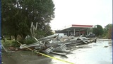 IMAGES: Microburst leaves damage in Cherryville - (6/8)