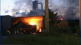IMAGES: Iredell Co. lumber yard fire - (8/21)