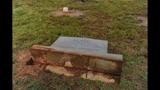 IMAGES: Headstones maliciously damaged in cemetery - (2/3)