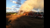 IMAGES: Large mulch fire spreads smoke… - (3/12)
