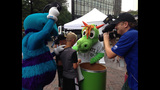 IMAGES: Local mascots come out to support… - (7/25)