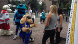 IMAGES: Local mascots come out to support… - (9/25)