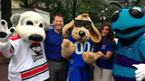 IMAGES: Local mascots come out to support… - (25/25)