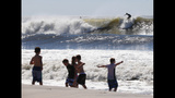 IMAGES: Cristobal brings big waves to the east coast - (20/23)