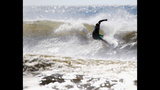 IMAGES: Cristobal brings big waves to the east coast - (9/23)