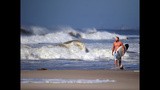 IMAGES: Cristobal brings big waves to the east coast - (8/23)