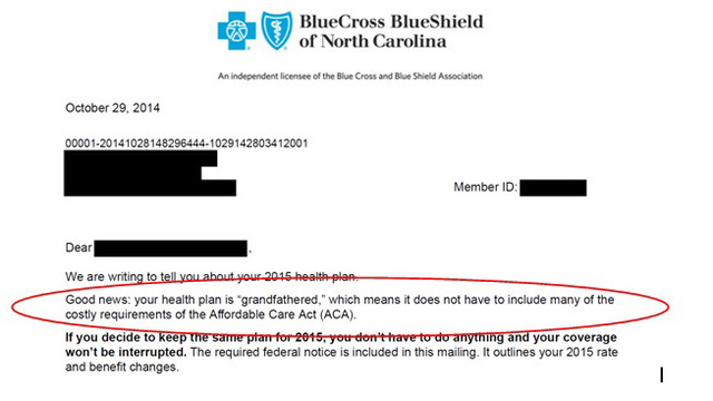 Letters from Blue Cross Blue Shield NC may have wrong rate | WSOC-TV