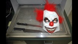 IMAGES: Clown mask, butcher knife that middle… - (2/4)