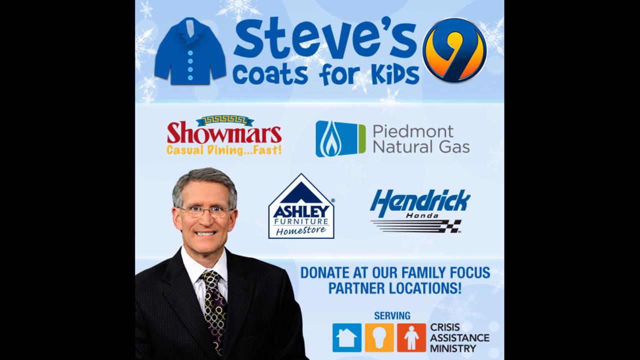 Important Dates Steves Coats For Kids WSOCTV - Ashley furniture pineville nc