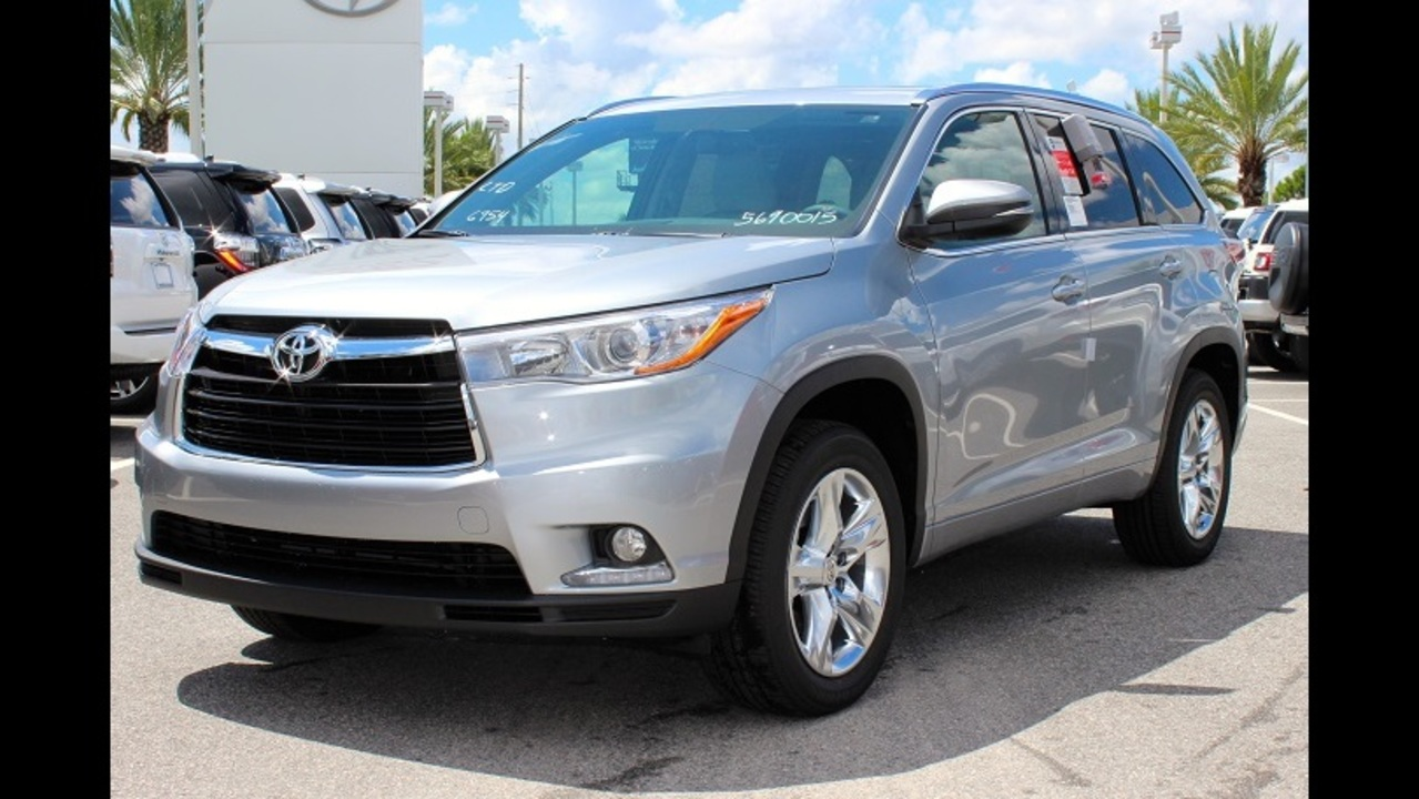 Toyota Suv Names >> Kbb Com Names The Toyota Highlander As The Best Family Car