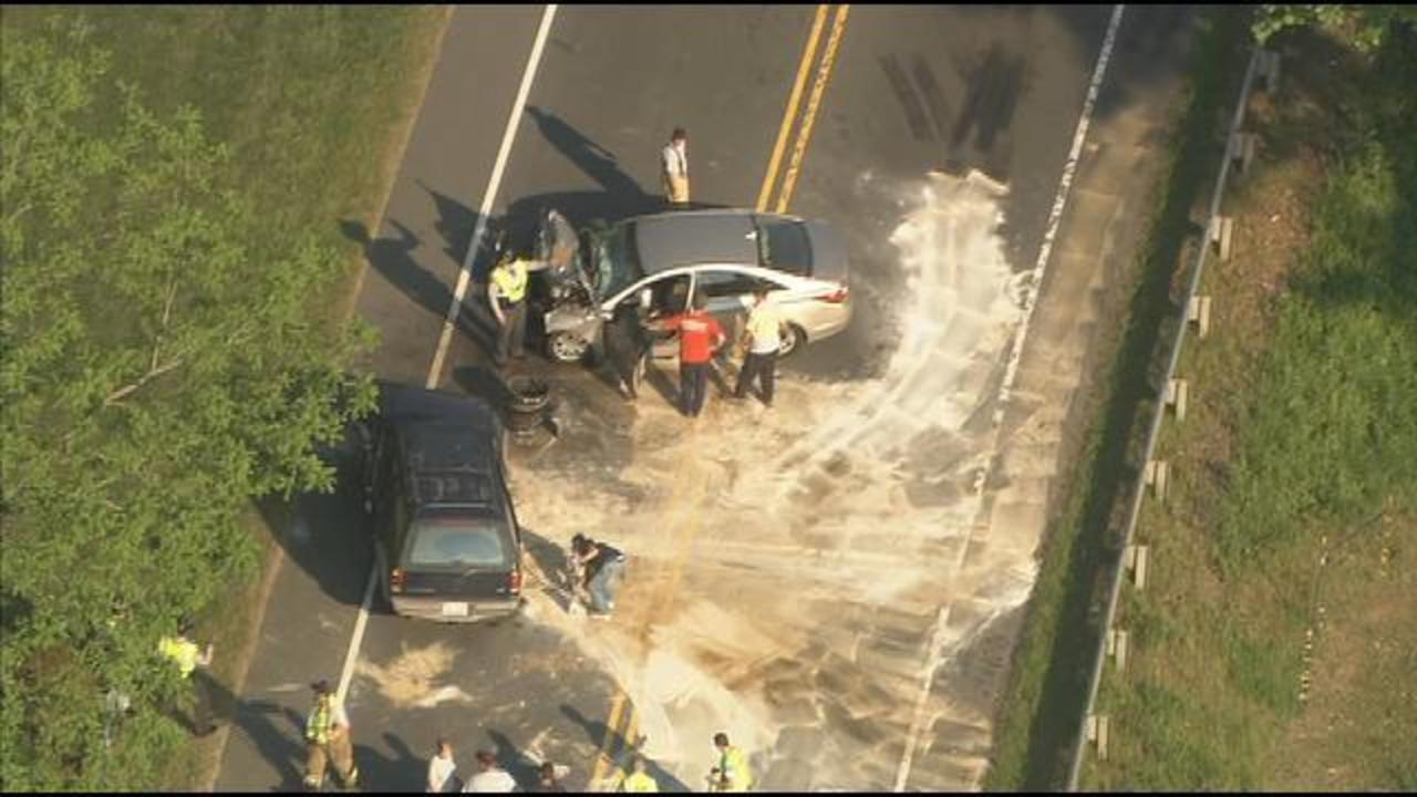 CHOPPER 9 IMAGES: Fatal accident closes Highway 601 in