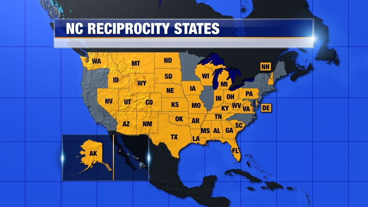 Concealed Carry USA Class Was A Success Southern Tier - Us concealed carry reciprocity map
