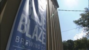 Blue Blaze Brewing is the first tenant at Savona Mill.