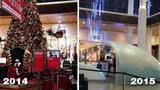 SouthPark Mall's holiday display before and after_8360936