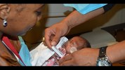 Mother Megan Smith with daughter E'layah Faith, born more than three months premature.