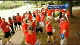 Hundreds rally in Charlotte over AT&T contracts