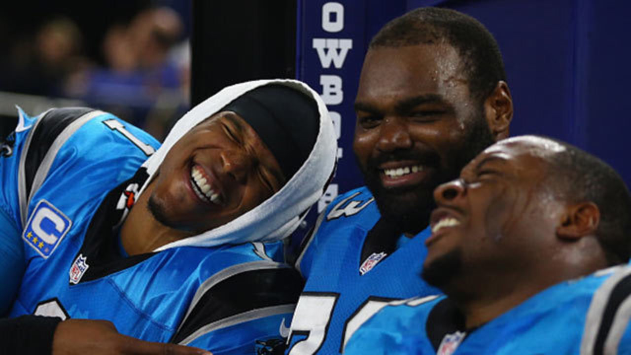 The Blind Side Family Watched Michael Oher Panthers Clinch