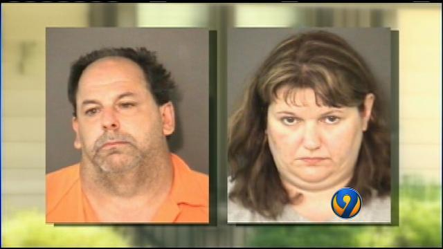 Couple arrested after police find $184K in drugs, 15 guns