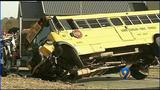 Officials: 21 students hospitalized after school bus overturns in Union Co.