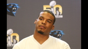 Carolina Panthers quarterback Cam Newton and head coach Ron Rivera spoke ot the media Tuesday about the Super Bowl experience so far and how they are preparing for the game.