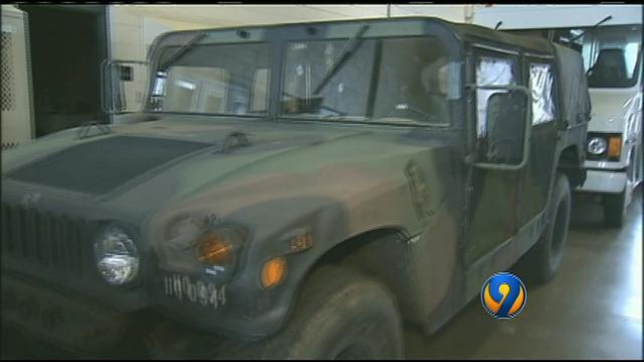NC National Guard deployed to Charlotte to respond to storm