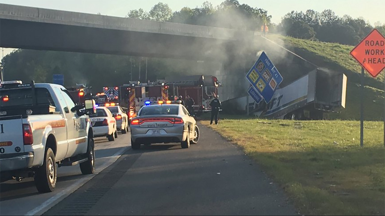 Fatal accident in south carolina on i95 today