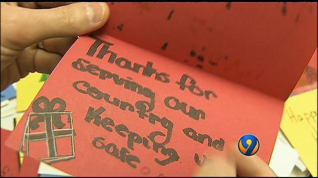 man collects christmas cards for veterans wsoc tv - Christmas Cards For Veterans