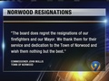 Norwood fire department, mayor resign