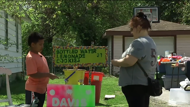 Missouri boy sells lemonade to help pay for his adoption