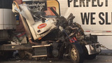 PHOTOS: Two tractor-trailers wreck near Pageland - (4/15)