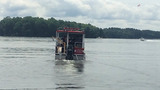 Divers search for man who jumped from boat on Lake Norman