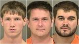 Nathan Lucas, 22, of Indian Trial; Paul Lucas, 29, and Randolph Magnum, 24, of Monroe