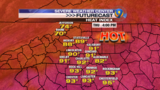 Additional thunderstorms possible for Thursday afternoon