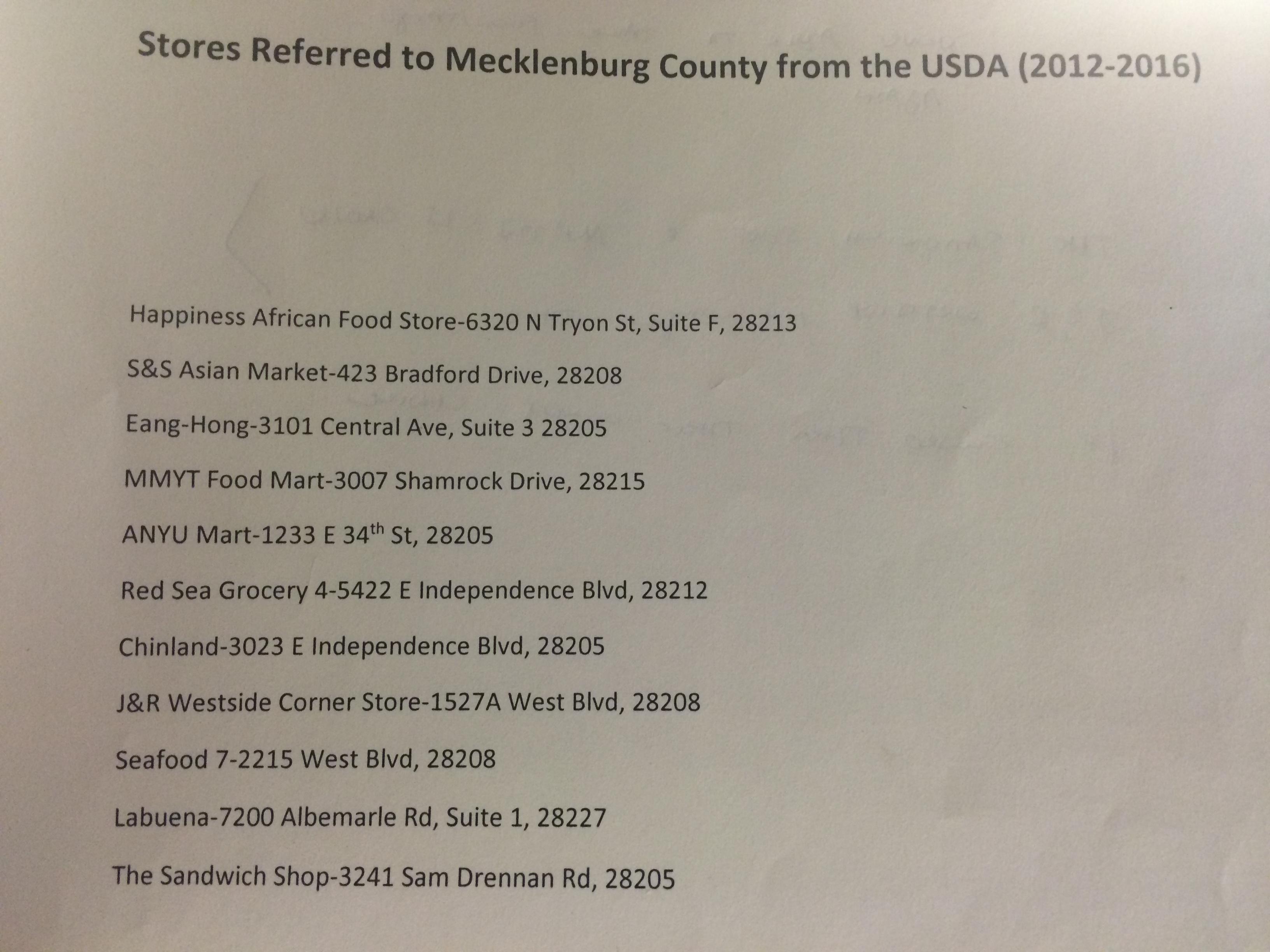 Douglas County Food Stamp Number