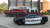 Fallen firefighters, officers honored in bike ride across the Carolinas
