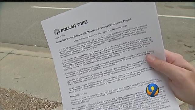 Dollar Tree cutting jobs at old Family Dollar headquarters | WSOC-TV