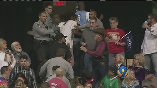 NC sheriff alters procedure for Trump rally after past violence