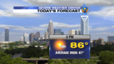 TUESDAY: Another comfortable day with low humidity