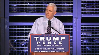 Mike Pence visits Charlotte manufacturer to touch on NC