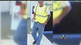 Man dressed as construction worker robs bank next to police station