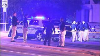 IMAGES: CMPD investigating officer-involved shooting in east Charlotte
