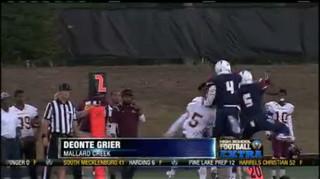 Drive Stopper: Deonte Grier
