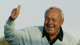 Arnold Palmer leaves mark beyond links