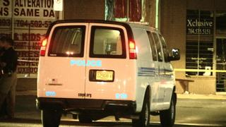 IMAGES: Man shot while getting into car in east Charlotte