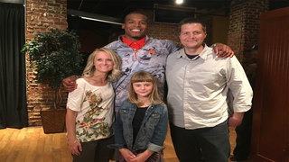 Panthers QB Cam Newton helps 9-year local girl with her music dreams
