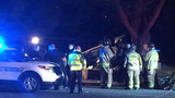 Police: Driver tries to hit pedestrian, later dies in north Charlotte wreck