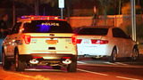 Wanted man crashes car on South Boulevard after fleeing police